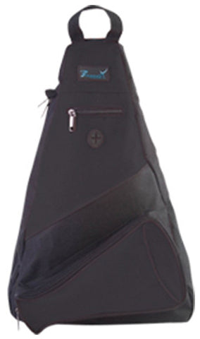 Pizzazz Custom Megaphone Slingpacks - Black - HIT A Double