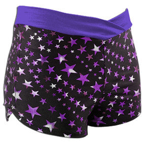 Pizzazz Superstar Crossover Shorts - Purple Superstar Purple
