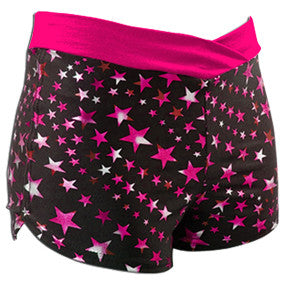 Pizzazz Superstar Crossover Shorts - Hot Pink Superstar Hot Pink