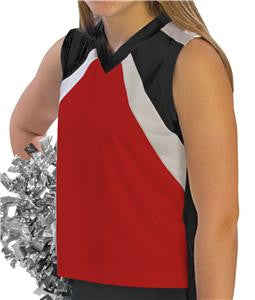 Pizzazz Premier Flare Uniform Shells - Red Black