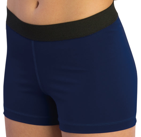"Pizzazz Pro Comfort Fit 3"" Shorts - Navy"