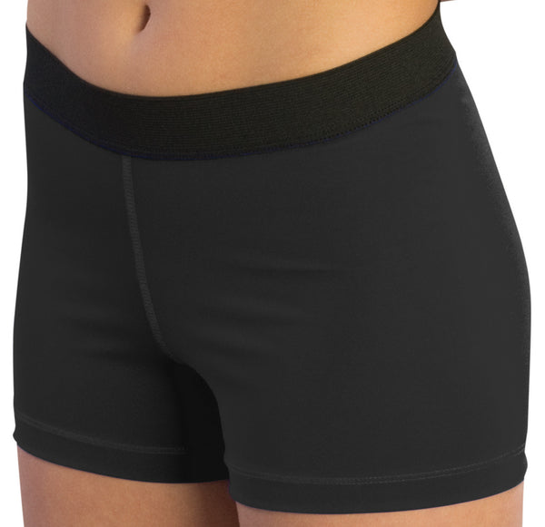 "Pizzazz Pro Comfort Fit 3"" Shorts - Black"