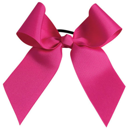 Pizzazz Solid Color Hair Bow - Hot Pink