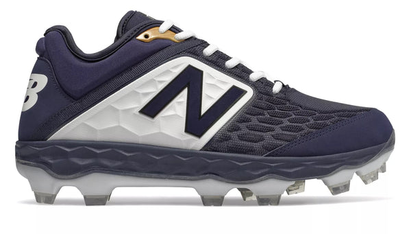 New Balance 3000v4 TPU Molded Cleat Low-Cut - Navy White
