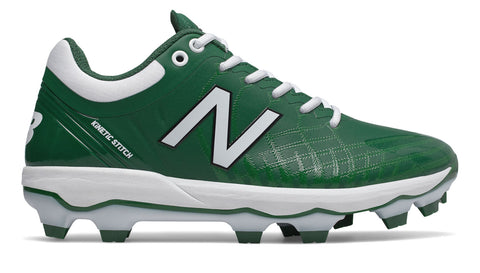 New Balance PL4040v5 Pedrola Molded Cleats Low-Cut - Green - HIT A Double