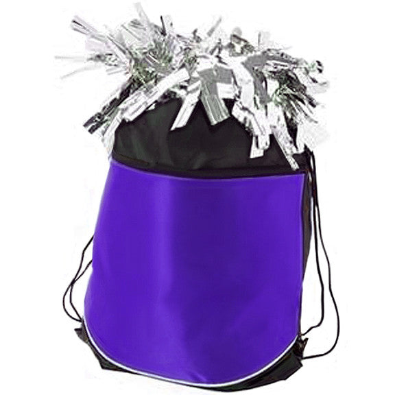 Pizzazz Stringpack for Pom Bags - Purple