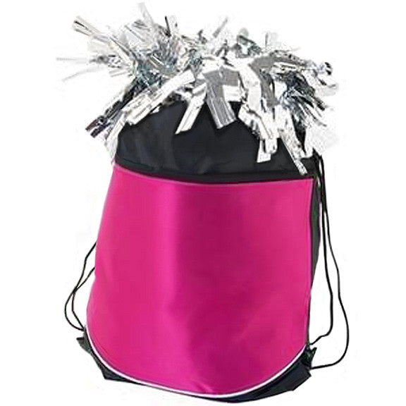 Pizzazz Stringpack for Pom Bags - Hot Pink