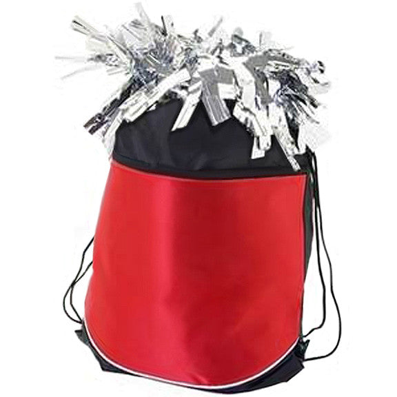 Pizzazz Stringpack for Pom Bags - Red