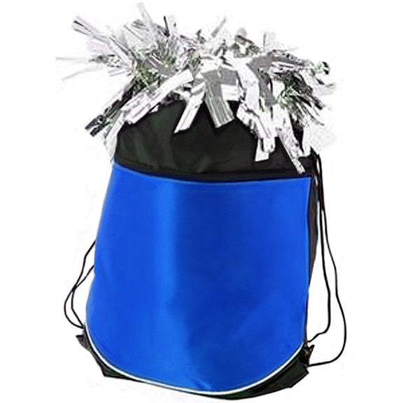 Pizzazz Stringpack for Pom Bags - Royal