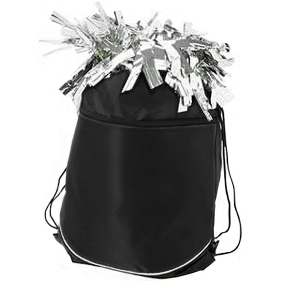 Pizzazz Stringpack for Pom Bags - Black