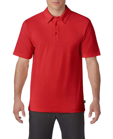 Prim + Preux 1975 Adult Preux Pique Polo - Red