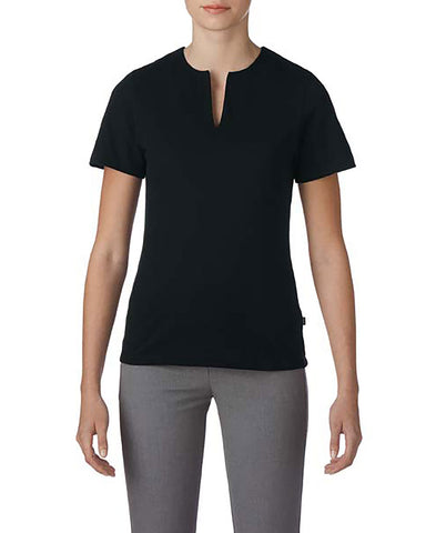 Prim + Preux 1976L Women's Preux Pique Top - Black