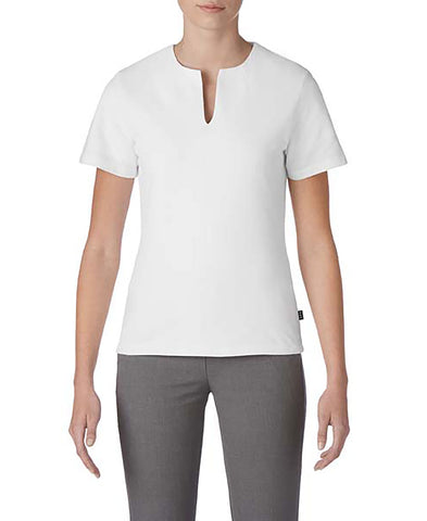 Prim + Preux 1976L Women's Preux Pique Top - White
