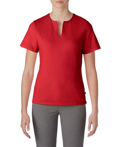 Prim + Preux 1976L Women's Preux Pique Top - Red