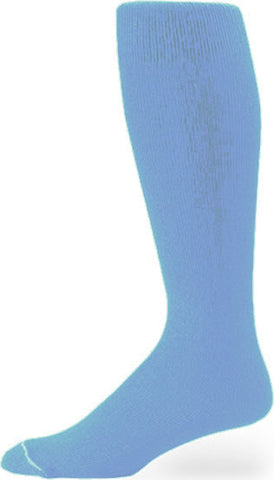 Pro Feet 110-112 Polyester Multi-Sport Tube - Carolina Blue - Basketball, Baseball Apparel, Soccer, Softball Apparel, Football - Hit A Double