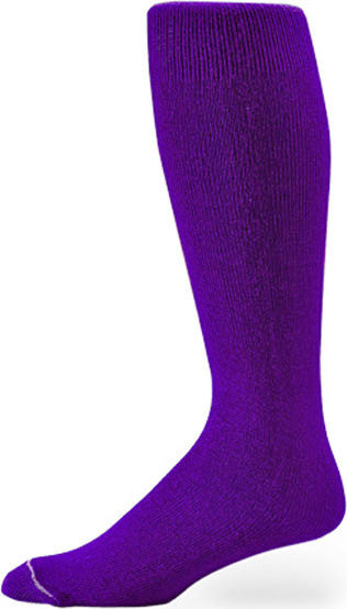 Pro Feet 110-112 Polyester Multi-Sport Tube - Purple - Basketball, Baseball Apparel, Soccer, Softball Apparel, Football - Hit A Double