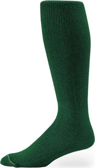 Pro Feet 110-112 Polyester Multi-Sport Tube - Dk. Green - Basketball, Baseball Apparel, Soccer, Softball Apparel, Football - Hit A Double