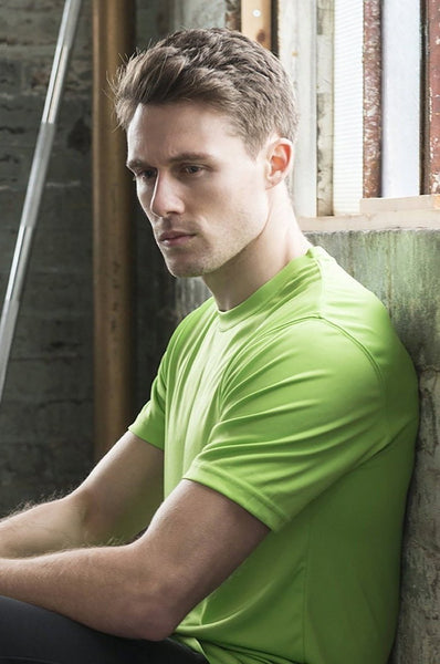 Just Cool JCA001 Cool Tee - Lime Green