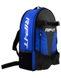 Rip-It Bat Backpack Black / Royal - HIT A Double