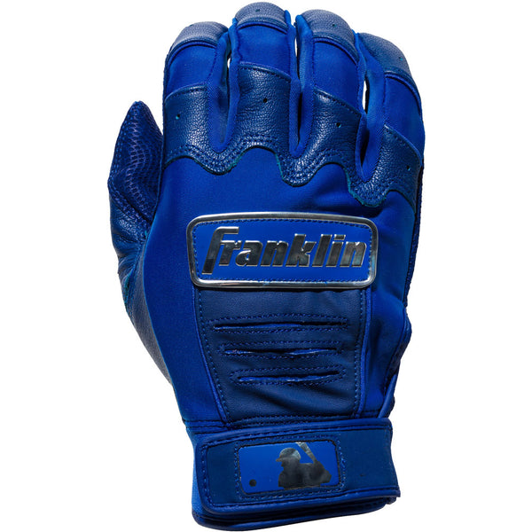 Franklin CFX Pro Chrome Adult Batting Gloves - Royal