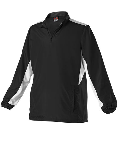 Alleson 3J15W Women's Multi Sport Jacket - Black White - Outerwear - Hit A Double