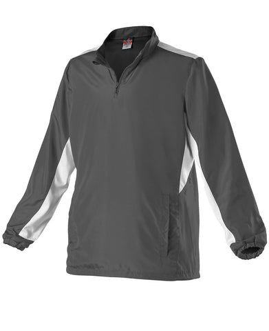 Alleson 3J15W Women's Multi Sport Jacket - Charcoal White - Outerwear - Hit A Double