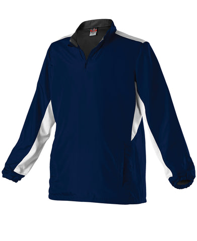Alleson 3J15W Women's Multi Sport Jacket - Navy White - Outerwear - Hit A Double