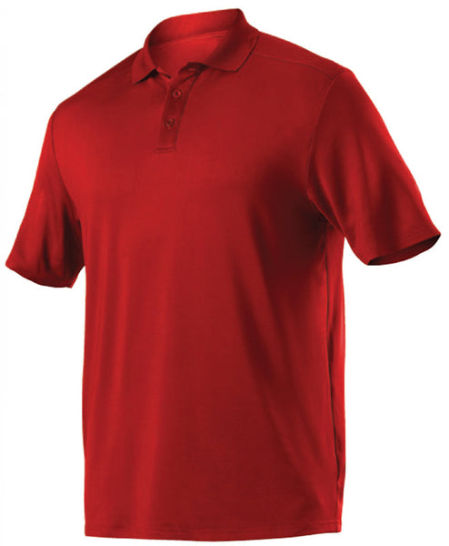 Alleson GPL5 Adult Gameday Polo - Scarlet - Band, Bowling, Fanwear, Golf - Hit A Double