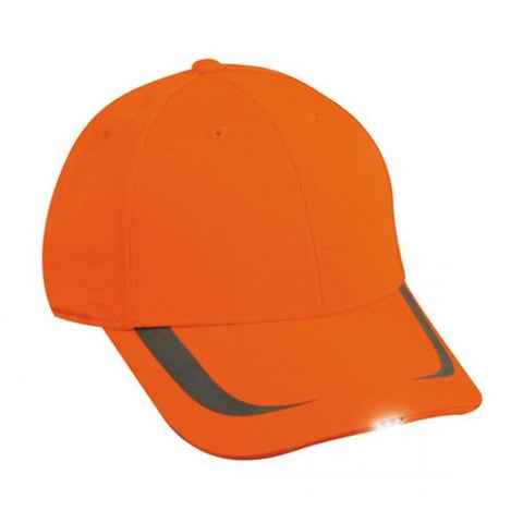 OC Sports SHB-302 Adjustable HiBeam Cap that is Easily Visible - Blaze
