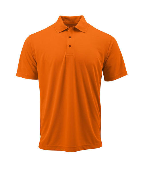 Paragon 100 Adult Solid Mesh Polo - Orange - HIT A Double