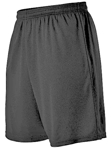 "Alleson SS201A Adult Stricker Soccer Short 7"" - Black"