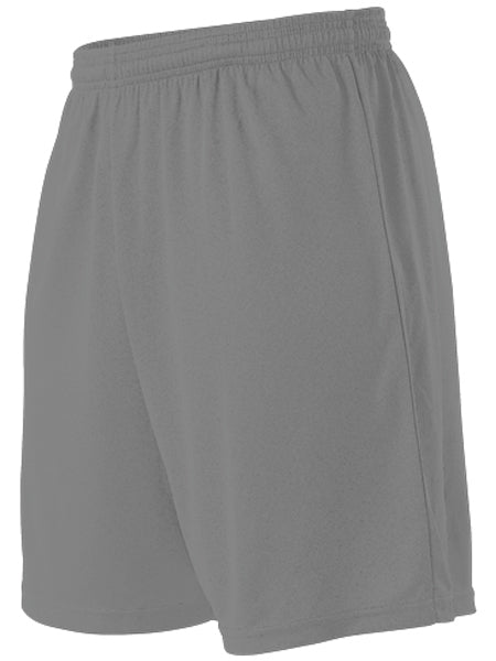 Alleson SS201Y Youth Stricker Soccer Short - Charcoal - Football, Baseball Apparel, Basketball, Lacrosse/Field Hockey, Training/Running, Fanwear - Hit A Double