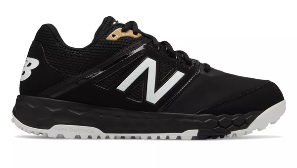 New Balance 3000v4 Fresh Foam Turf Baseball Shoe - Black