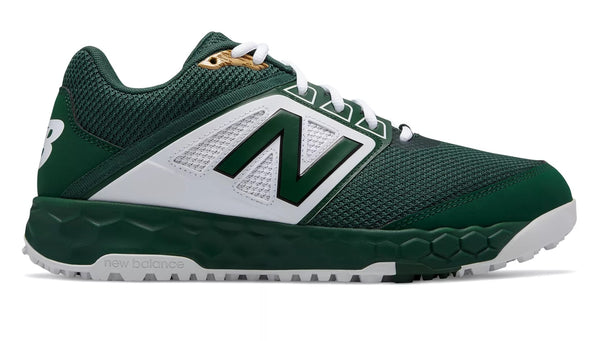 New Balance 3000v4 Fresh Foam Turf Baseball Shoe - Green White