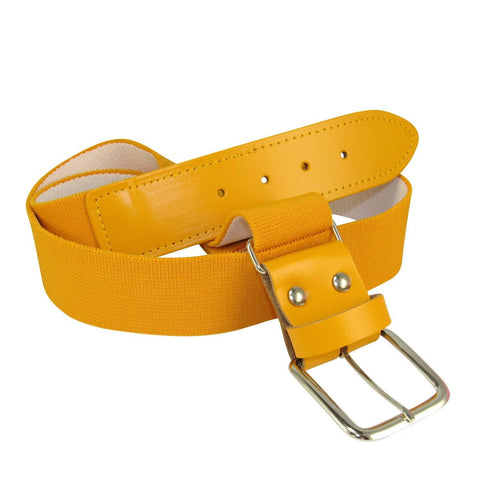 Twin City Adjustable Elastic Baseball Belts - Gold - HIT A Double