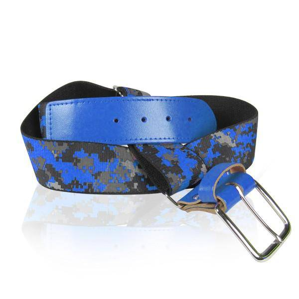 Twin City Camo Baseball Belts - Royal Camo - HIT A Double