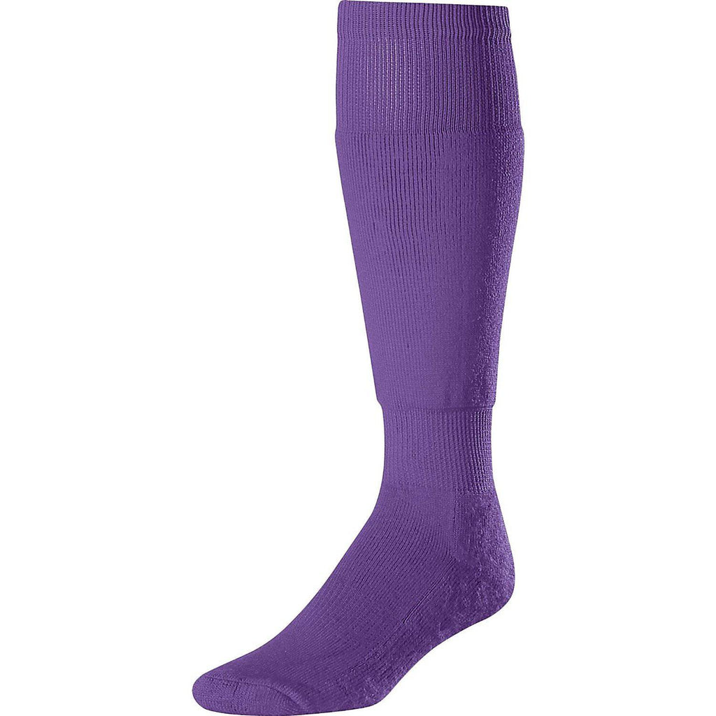 Twin City Ultimate Classic Over the Calf Socks - Purple - HIT A Double