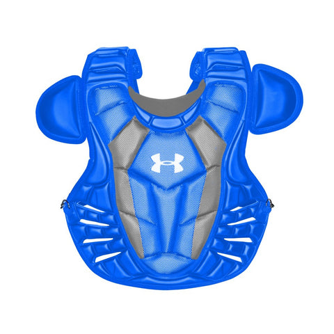 Under Armour Converge Adult Pro Chest Protector - Royal - Catcher's Gear - Hit A Double