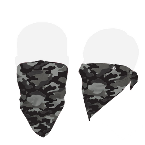 Badger 1919 B-Core Face Bandana - Black Camo