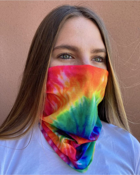Valucap VC20 Neck Gaiter (3 pk) - Rainbow Tie-Dye - HIT A Double