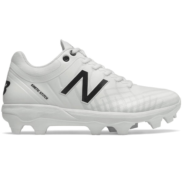 New Balance PL4040v5 Molded Cleats Low-Cut - White