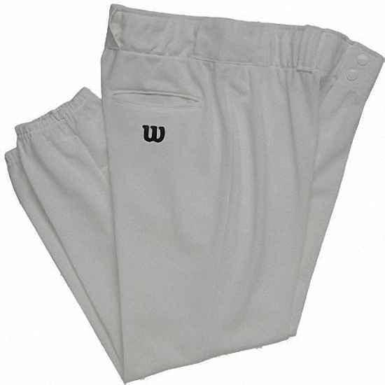 Wilson WTA4228 Polyester Warp Knit Softball Youth Pants Gray - HIT A Double