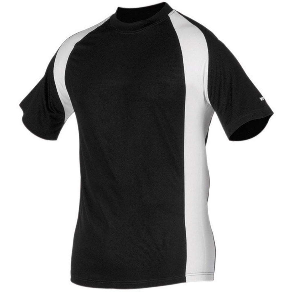 Worth Titan Short Sleeve Jersey Men's - Black White - HIT A Double