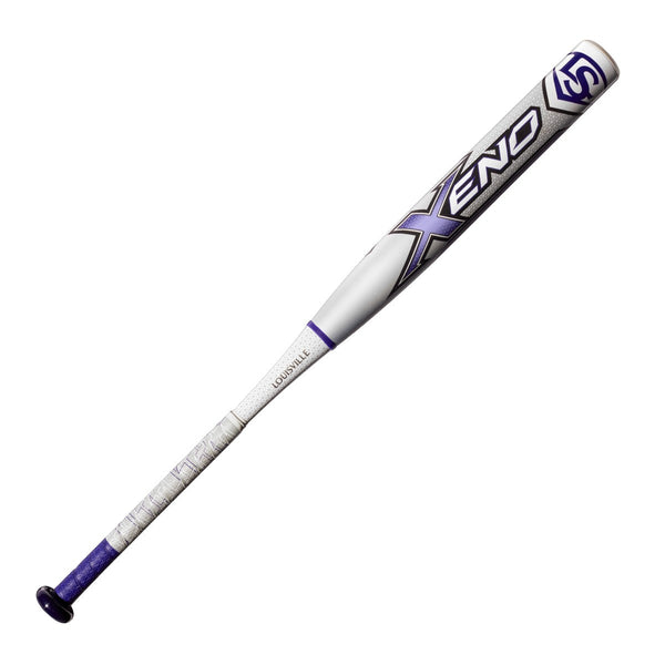 Louisville Slugger 2018 Xeno X18 (-10) Fastpitch Bat - White Gray
