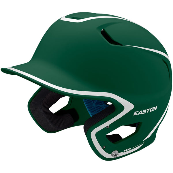 Easton Z5 2.0 Matte Two-Tone Batting Helmet - Green White
