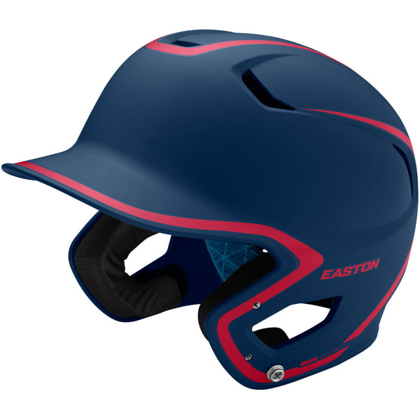 Easton Z5 2.0 Matte Two-Tone Batting Helmet - Navy Red