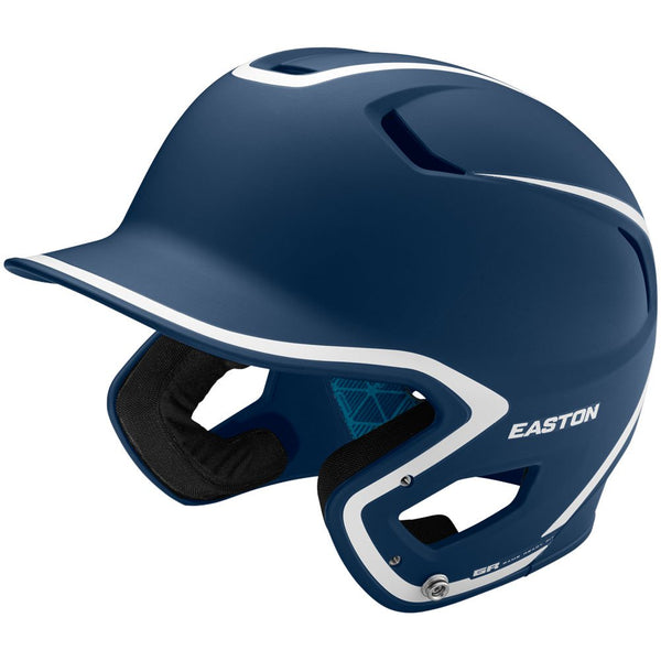Easton Z5 2.0 Matte Two-Tone Batting Helmet - Navy White