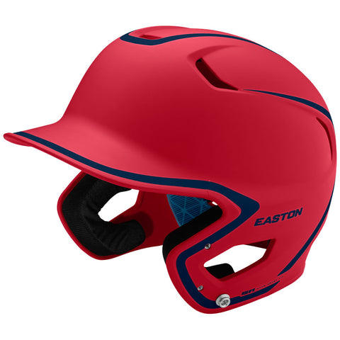 Easton Z5 2.0 Matte Two-Tone Batting Helmet - Red Navy