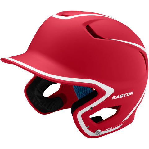 Easton Z5 2.0 Matte Two-Tone Batting Helmet - Red White
