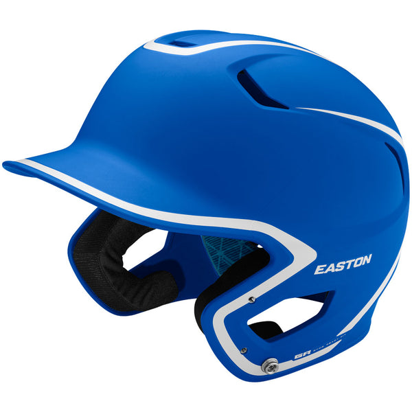 Easton Z5 2.0 Matte Two-Tone Batting Helmet - Royal White